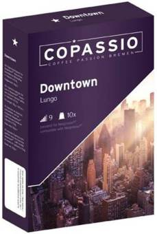 Harga The Nespresso ® compatible capsule: Copassio Downtown (Lungo, Intensity 9)