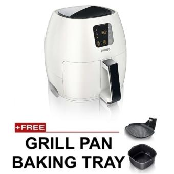 Harga Philips HD9240 Avance Collection XL Airfryer with Free Grill Pan + Baking Tray