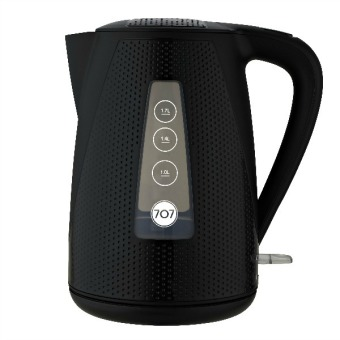 Harga 707 KE174 Electric Kettle 1.7L (Carbon Black)