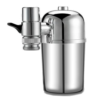 Harga Electroplating Water Faucet Filter Multi-layer Filter Purifier(EXPORT)