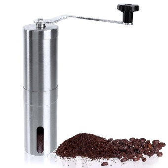 Harga Stainless Steel Manual Coffee Grinder