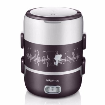 Harga Bear DFH-S2123 electric heating multilayer rice cooker (Coffee) - intl
