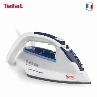 Harga Tefal Smart Protect Steam Iron FV4970(Navy Blue)
