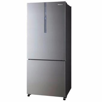 panasonic nrbx468xss1 2 doors fridge colour stainless