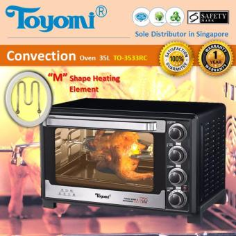 Harga Toyomi TO 3533RC Electric Convection Oven 35L