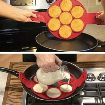 Harga Moonar Nonstick Pancake Maker Egg Ring Maker Kitchen - intl