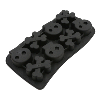 Harga Jetting Buy Skull Crossbone Ice Cube Tray Black