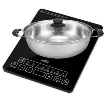 Mistral MIC20E Induction Cooker with Free Cooking Pot