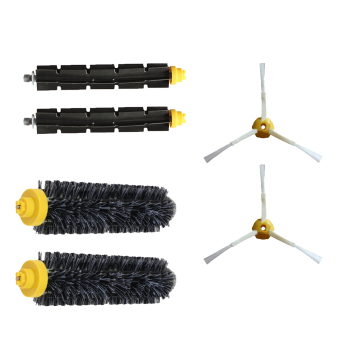 Harga 6 PCS Replacement Main Brush Side Brush Vac Filter Kit for iRobot Roomba 600 Series 620 630 650 660 700 Series 760 770 780 790