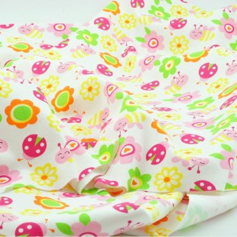 Harga Babies' cartoon knitted pure cotton fabric