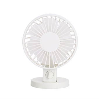 Harga Portable Ultra-Quiet USB Mini Desk Fan Cooling Fan (White)