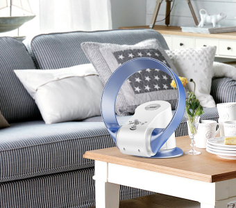 Harga New Design Bladeless Fan(Grey)