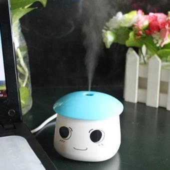 Harga Portable Mini Office Bedroom Humidifier USB Powered (Blue)
