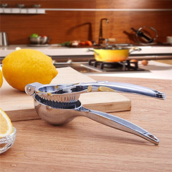 Harga Fruit juicer manual juicer lemon squeezed orange juice squeezer household bbq stainless steel lemon squeezer