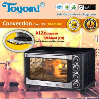 Harga Toyomi TO 2311RC Electric Convection Oven 23L