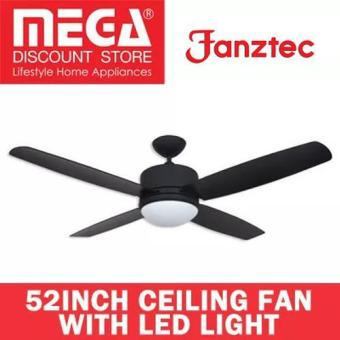 Harga Fanztec Ft-Dctw594 52inch Ceiling Fan with Led Light