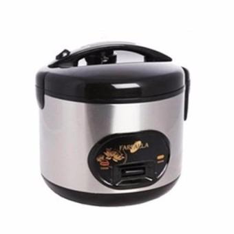 Harga Farfalla FRC845S 1.2L Black Stainless Steel Electric Rice Cooker