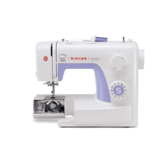 Harga SINGER 3232 Simple Sewing Machine with Automatic Needle Threader (White)