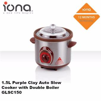 Harga Iona 1L Auto Slow Cooker - GLSC150 (1 Year Warranty)