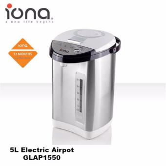 Harga Iona 5L Electric Airpot - GLAP1550 (1 Year Warranty)