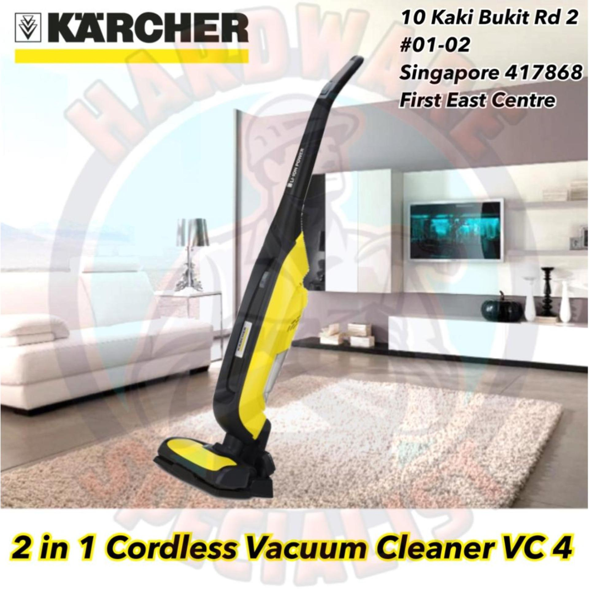 Karcher VC 4 Battery Cordless Vacuum Cleaner Singapore