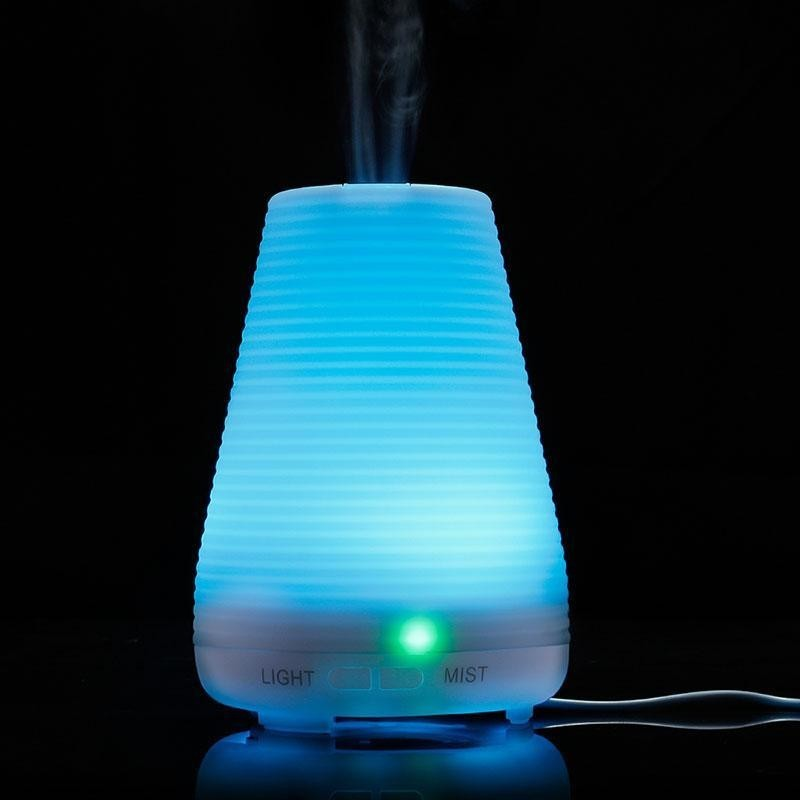 leegoal 100ml Essential Oil Diffuser,Portable Ultrasonic Aroma Cool Mist Air Humidifier Purifiers With 7 Color LED Lights Changing For Home Office(EU) - intl Singapore