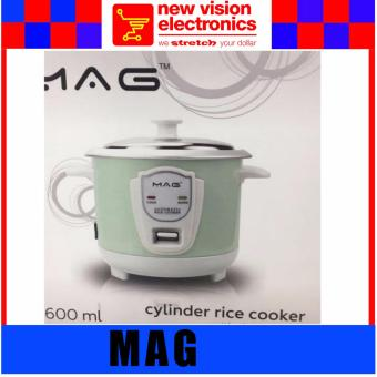 MAG Cylinder Rice Cooker. 1 Year Warranty. PSB Safety Mark Approved.