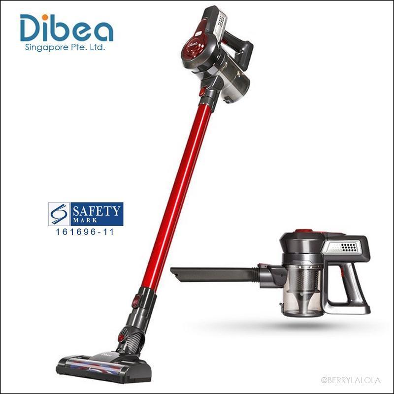 [Official Dibea Singapore] C17 Cordless Vacuum Cleaner Singapore