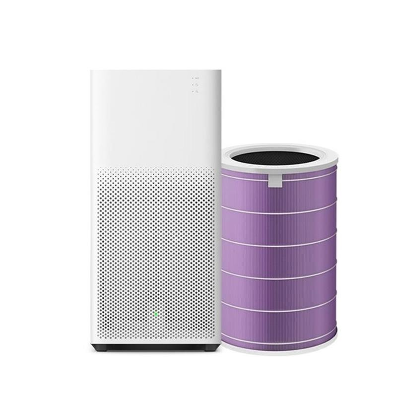 Original Xiaomi Peculiar Smell PM2.5 Formaldehyde Removal Air Purifier Filter Antibacterial Version Purple - intl Singapore