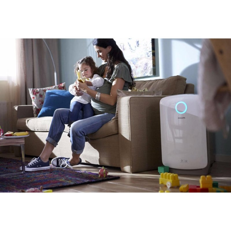 Philips AC4081/31 Combi Air Purifier and Humidifier with VitaShield IPS & NanoCloud - White Singapore