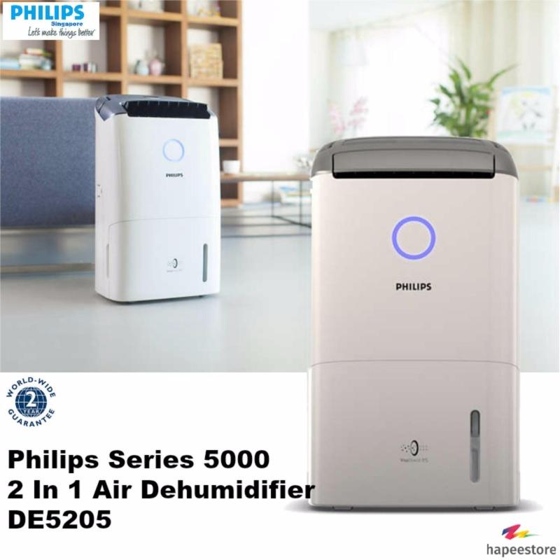 Philips Series 5000 2 In 1 Air Dehumidifier - DE5205 (2 Years Warranty) Singapore