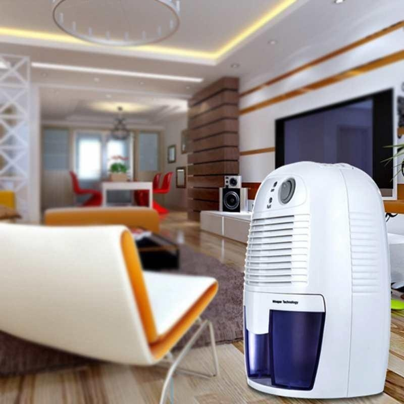 Portable Dehumidifier Electric Quiet Air Dryer Dehumidifier Accessories 500mL - intl Singapore