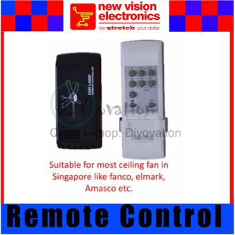 Posco Remote Control Suitable for Fanco, Amasco, Elmark & Crestar ceiling Fan. PSB Safety Mark Approved.