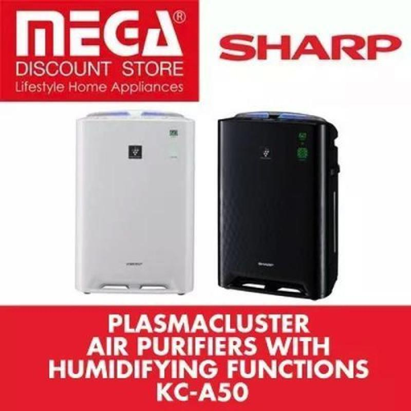 Sharp Kc-A50 Air Purifier + Humidifier With Hepa Filter White Singapore