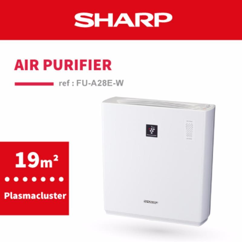 SHARP Plasmacluster Air Purifier FU-A28E-W Singapore