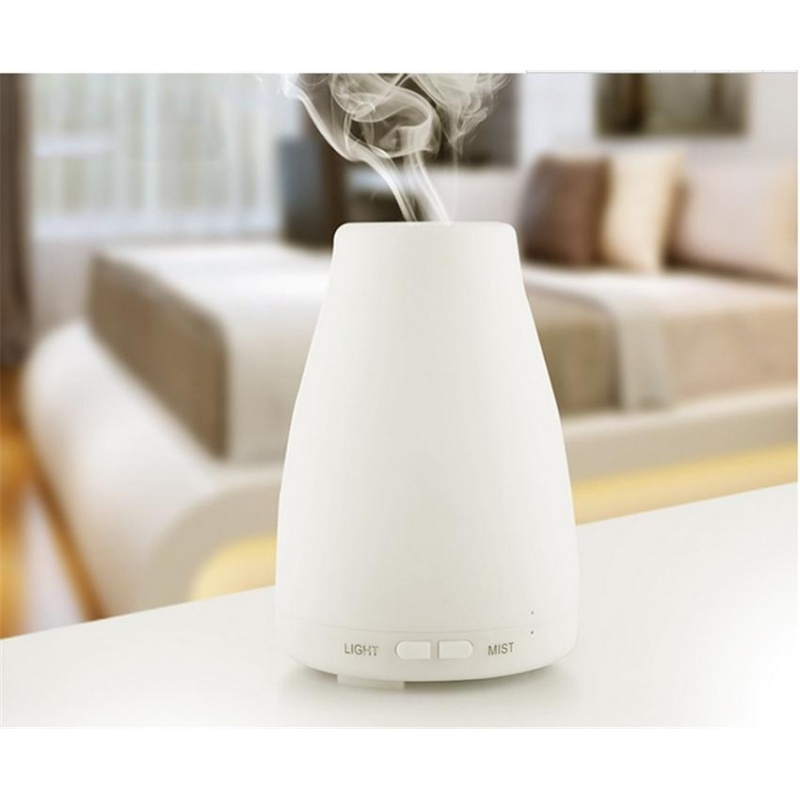 svoovs 100ml Essential Oil Diffuser,Portable Ultrasonic Aroma Cool Mist Air Humidifier Purifiers With 7 Color LED Lights Changing For Home Office - intl Singapore