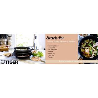 Tiger Electric Steamboat With Teppanyaki Grill Pan - 3