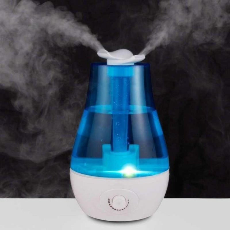 Ultrasonic Humidifier 3L Mini Aroma Humidifier Air Purifier LED Lamp Humidifier   - intl Singapore