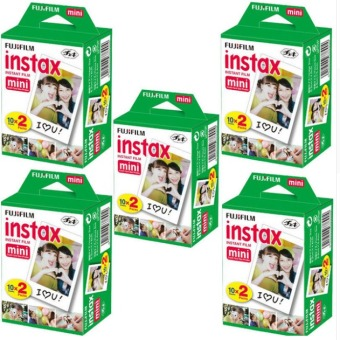 100 Sheets Fujifilm Instax Mini Twin Film (5 Twin Pack)
