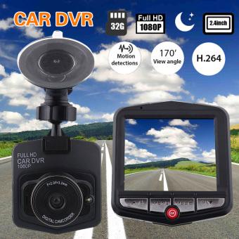 1080P 2.4' Car DVR Vehicle Dash Cam Camera Crashcam Recorder G-sensor - intl