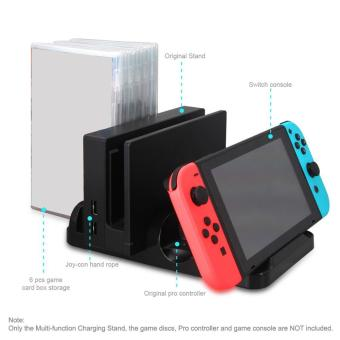 2017 Multi-function Charging Stand Dock for Nintendo Switch Console - intl - 4