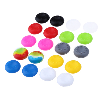 20pcs Rubber Silicone Cap For PS4 PS3 PS2 XBOX 360 ONE - intl