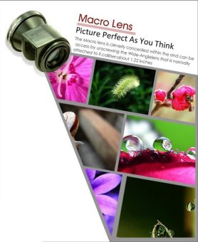 3 in One iPhone Camera Lens For iPhone 4/4S - 3