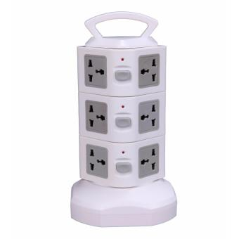 3 tiers USB Vertical type power socket/power tower