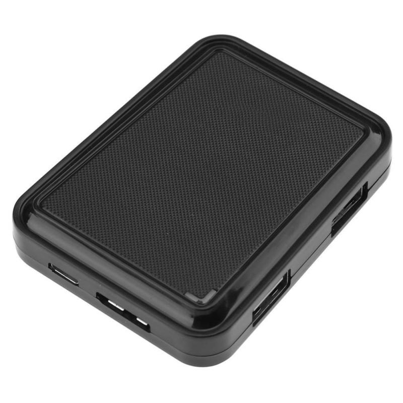 3xUSB2.0+1xUSB3.0 Ports Multi USB Hub Splitter Adapter for PC Phone(Black) - intl