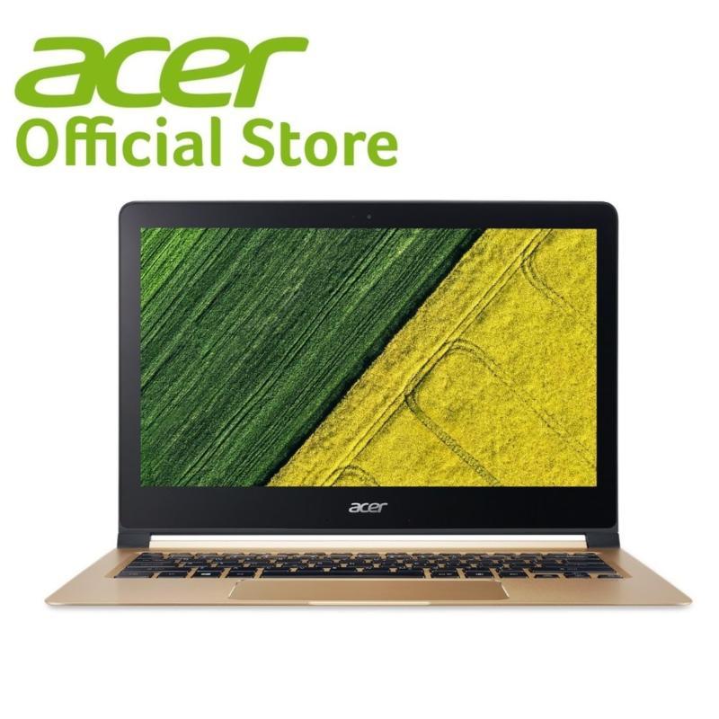 Acer Swift 7 (SF713-51-M718) 13.3 FHD Ultrathin i7-7Y75 (Up to 3.6GHz, 4MB L3 cache)/8GB RAM/512GB SSD/W10 Laptop (Black)