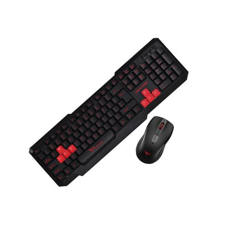Alcatroz Xplorer 5500M Keyboard Combo (Black/Red) Singapore