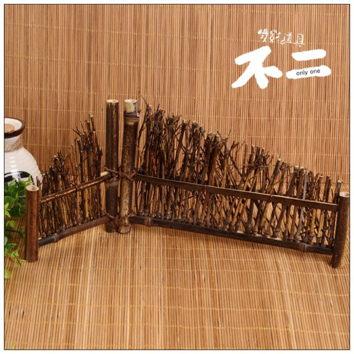 Antique wooden bamboo screen jewelry shoot props classical camera decorative Taobao photography props 49