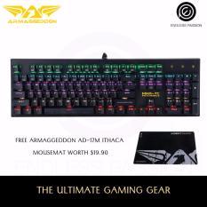 Armaggeddon MKA-7C Psycheagle Mechanical Keyboard (2017) with FREE AD-17M Mousemat Singapore