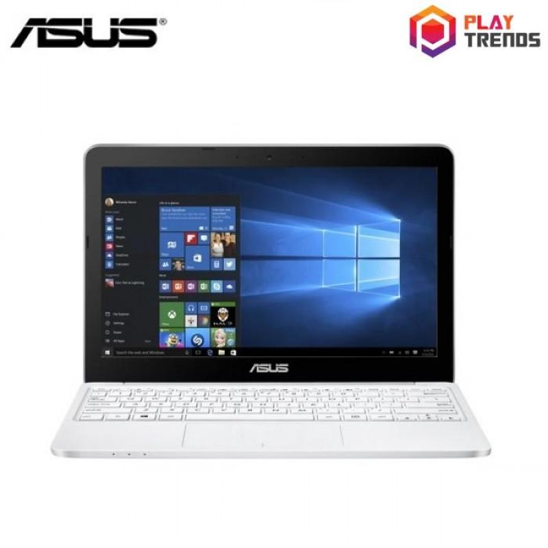 Asus E-Series (E200HA-FD0041TS) - 11.6 / Atom x5-Z8350 / 2GB DDR3 / 32GB eMMC / Intel / Win10 (White) + FREE McAfee Anti Virus + Microsoft Office 365 Personal
